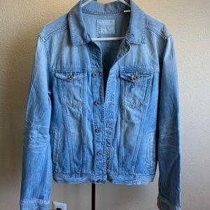 SCOTCH & SODA Mens Blue Denim Jacket